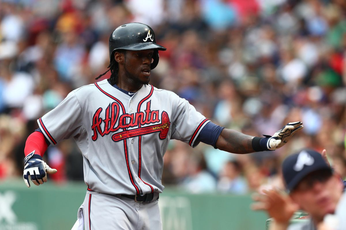 Cameron Maybin is just one of a handful of offseason acquisitions for Atlanta who has been better than expected.