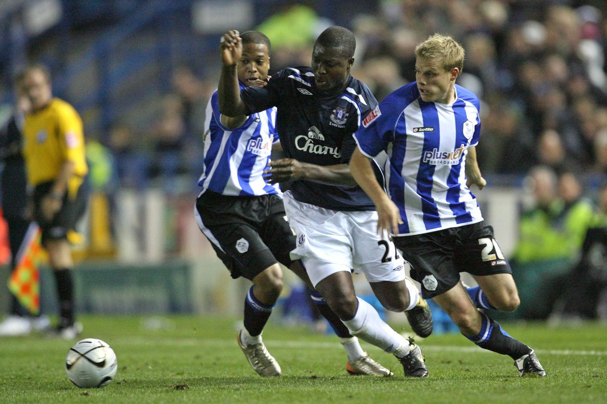Soccer - Carling Cup - Third Round - Sheffield Wednesday v Everton - Hillsborough
