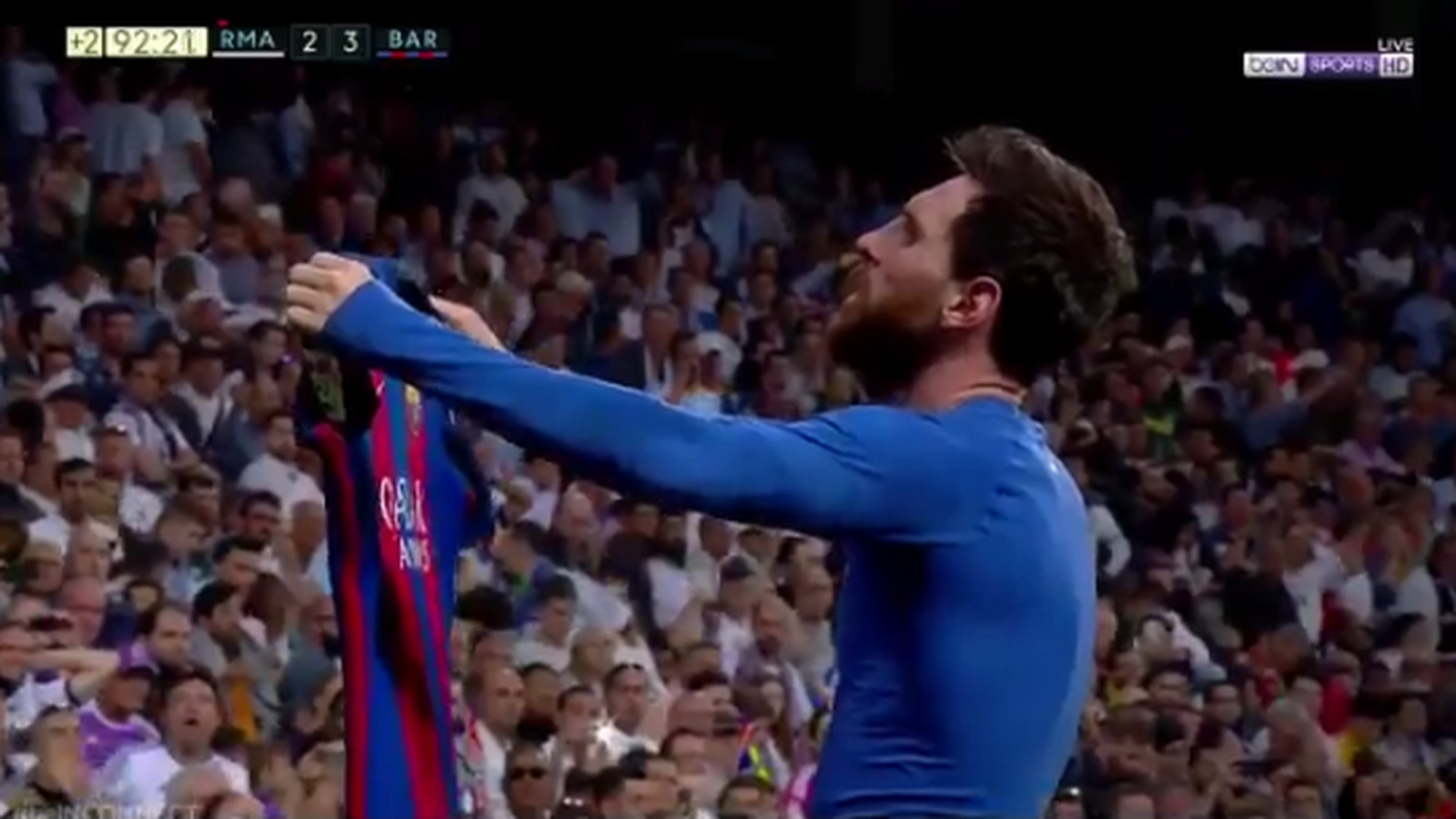 Lionel Messi Had An Epic Celebration After His Game