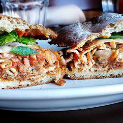 Porchetta Sandwich at Stella Rossa Santa Monica by @LA_Chefs