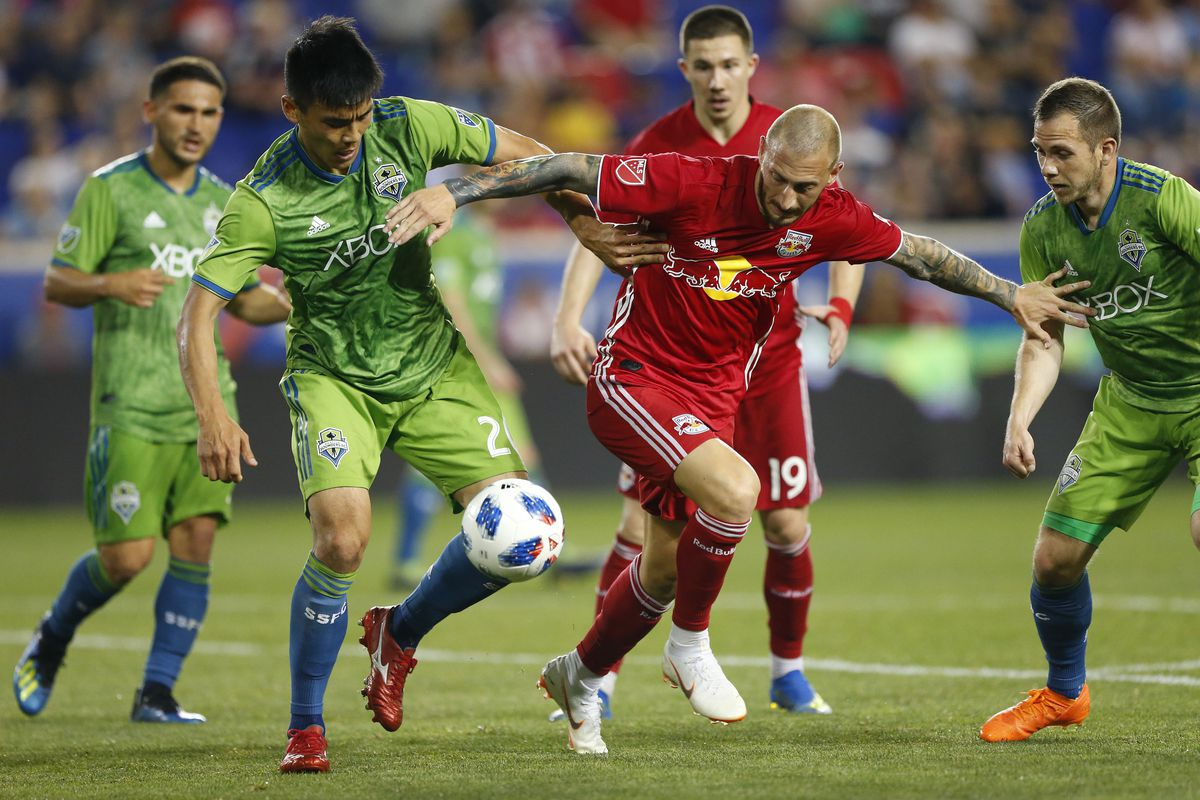 MLS: Seattle Sounders at New York Red Bulls