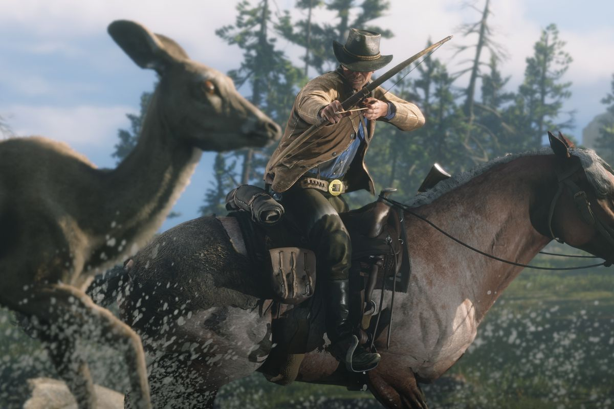 1 Man 1 Horse Video Link red dead redemption 2 pc preview: hands-on at 4k and 60 fps