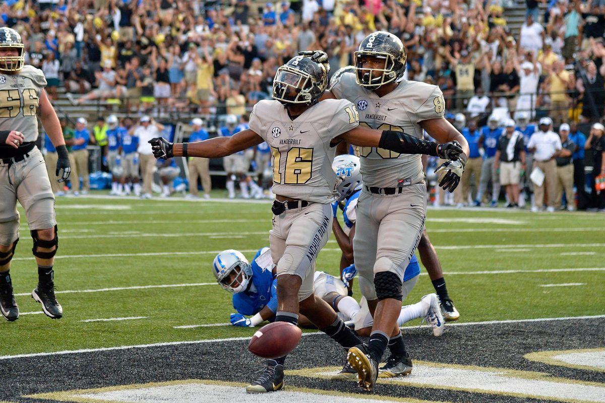 Lessons in Vanderbilt Football: MTSU - Anchor Of Gold