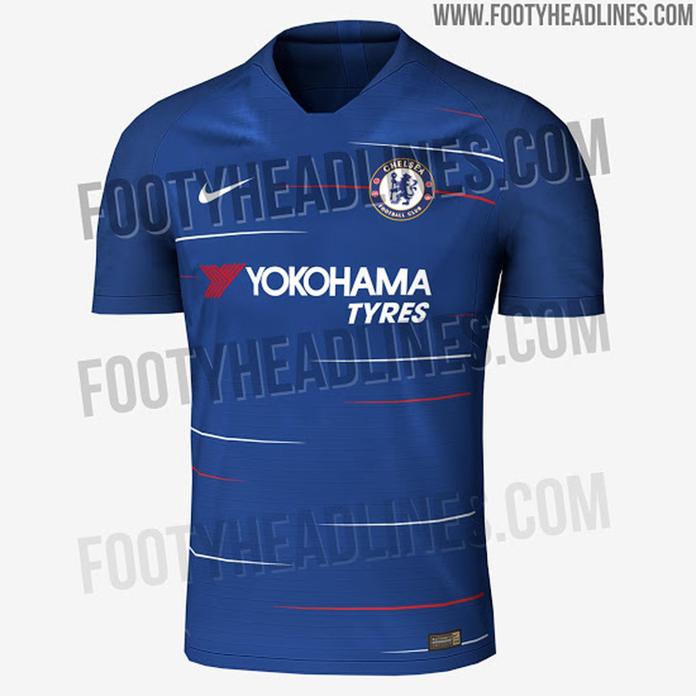 cc8543a81 Chelsea 2018-19 home and away shirts leaked