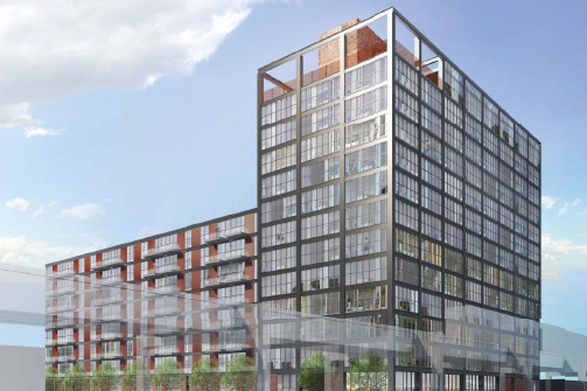 14 Story Apartment Building Ready To Rise On Lake And Ada Streets