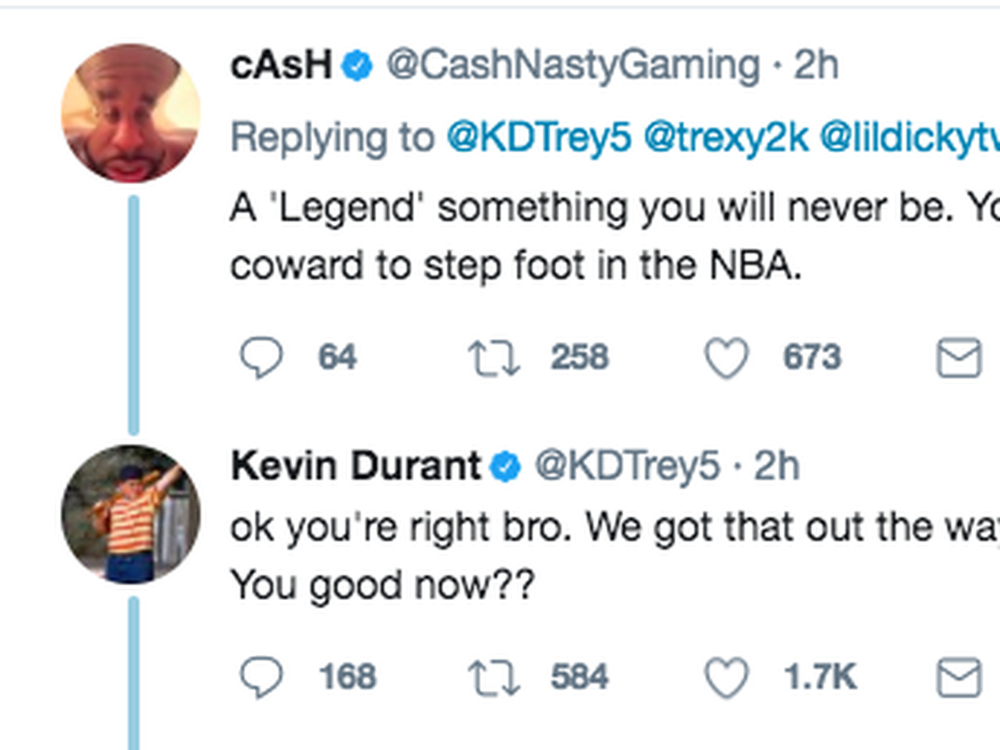 01c0cc6d90eea Kevin Durant is the NBA s king of the Twitter clap-back. Here s proof. -  SBNation.com