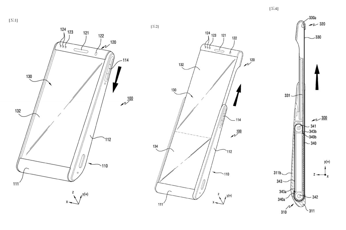 Samsung patent shows rollable phone displays - The Verge