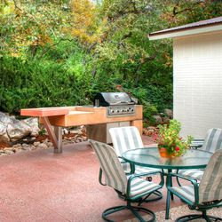This patio project boosted the outdoor cooking space with a custom built-in barbecue.