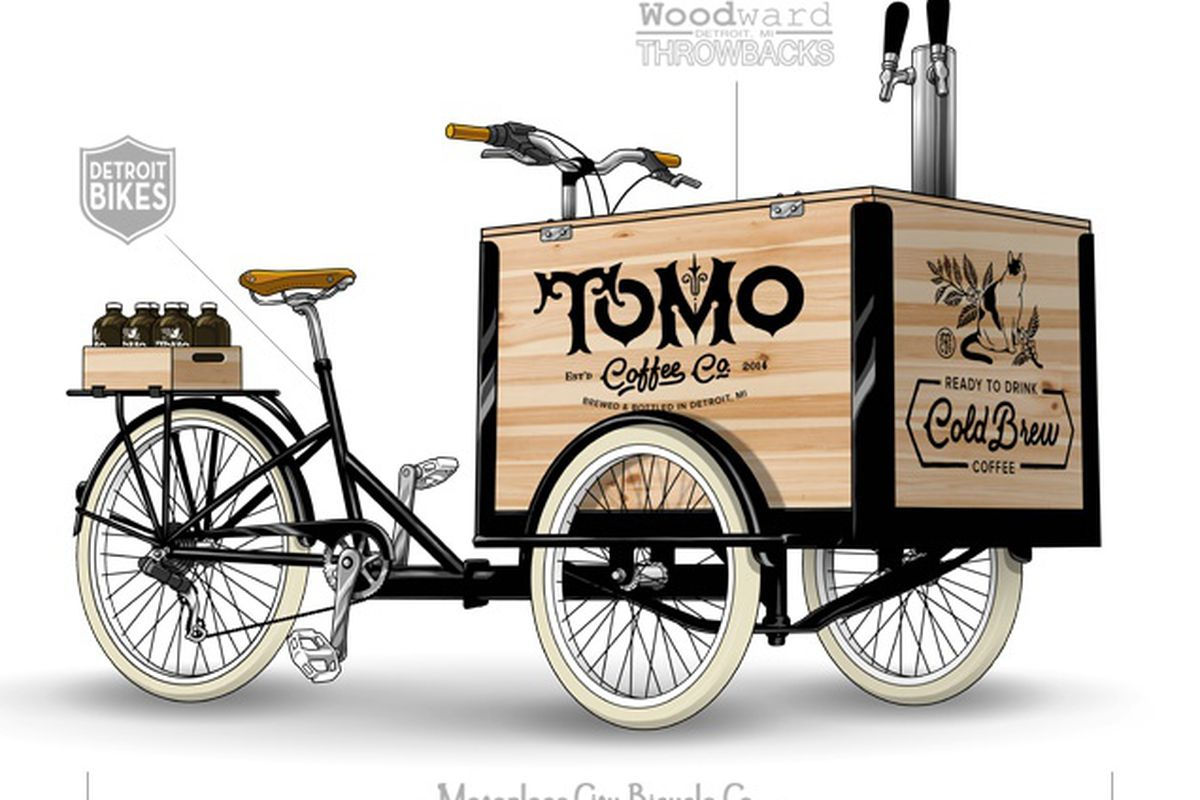Tomo Coffee's Cold Brew Bicycle