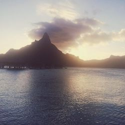 My final night in Bora Bora was spent on François Nars' island where I had dinner, watched the sunset, and gazed at the stars.