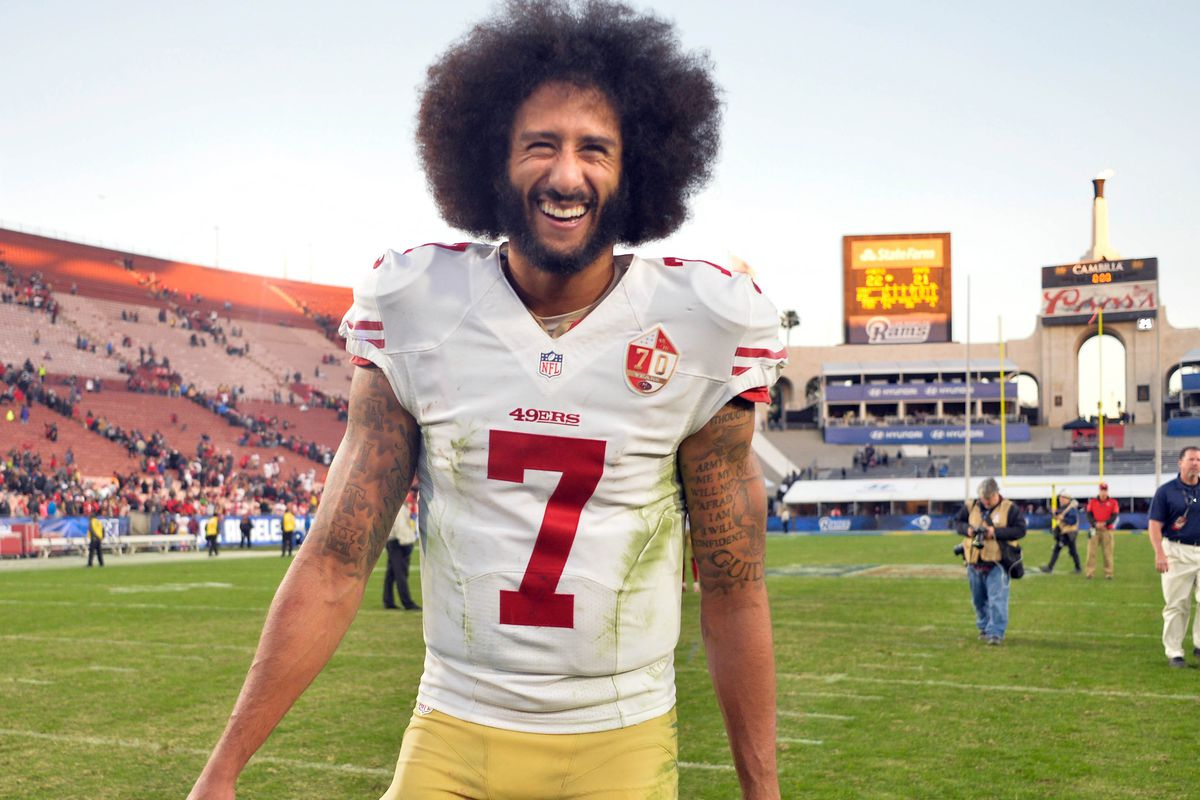 323a5a4e266 Colin Kaepernick s jersey will now live at the Smithsonian ...