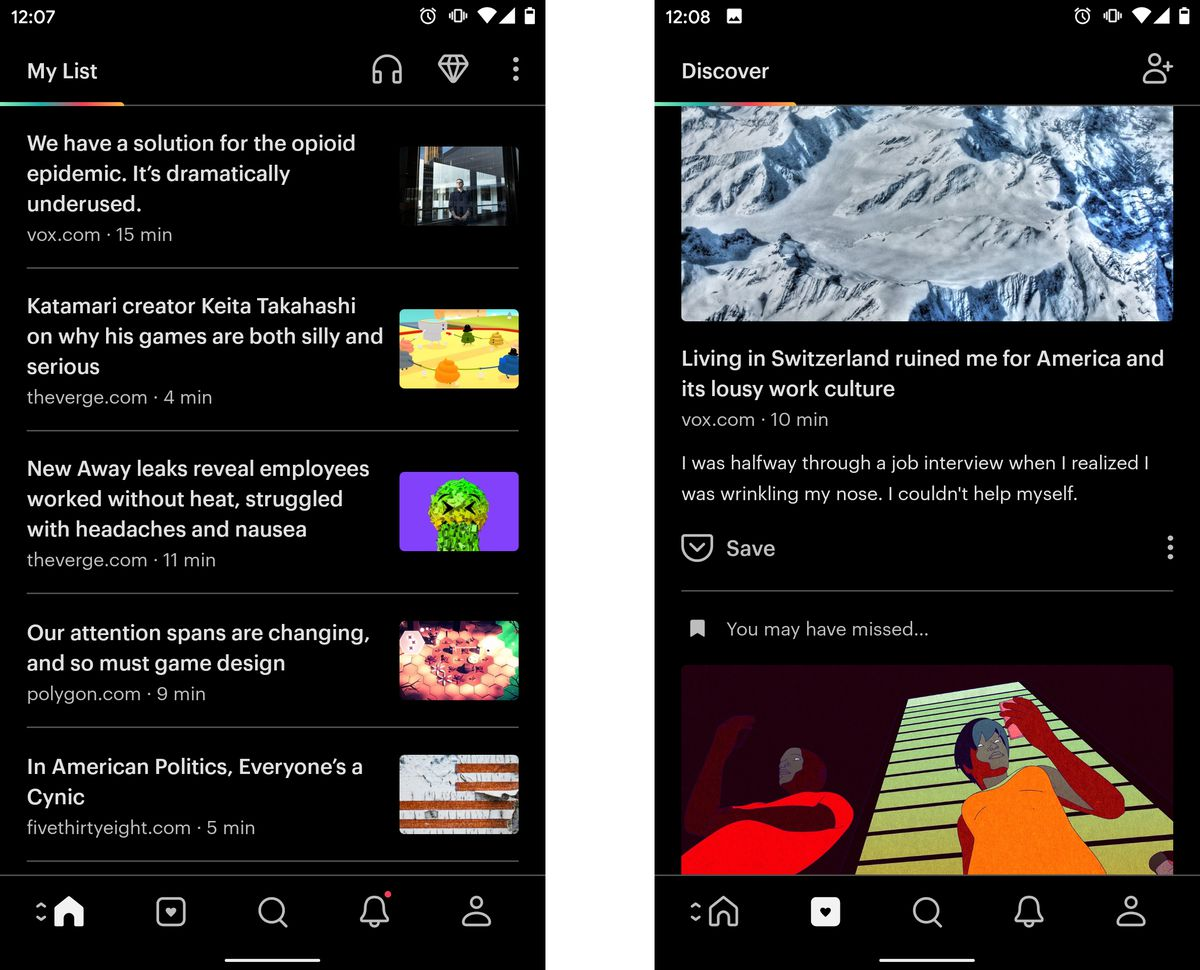 pocket - Listed here are 9 nice apps on your new Android system
