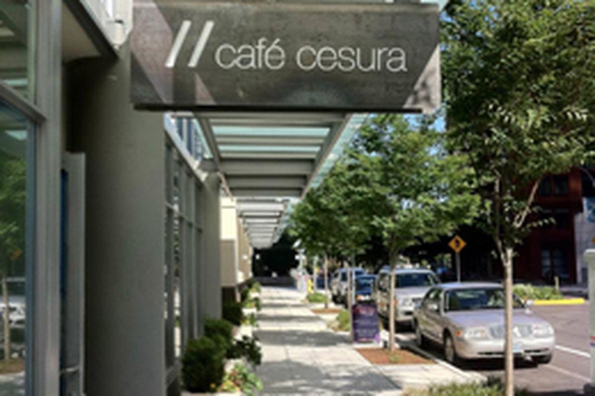 Cafe Cesura Menu