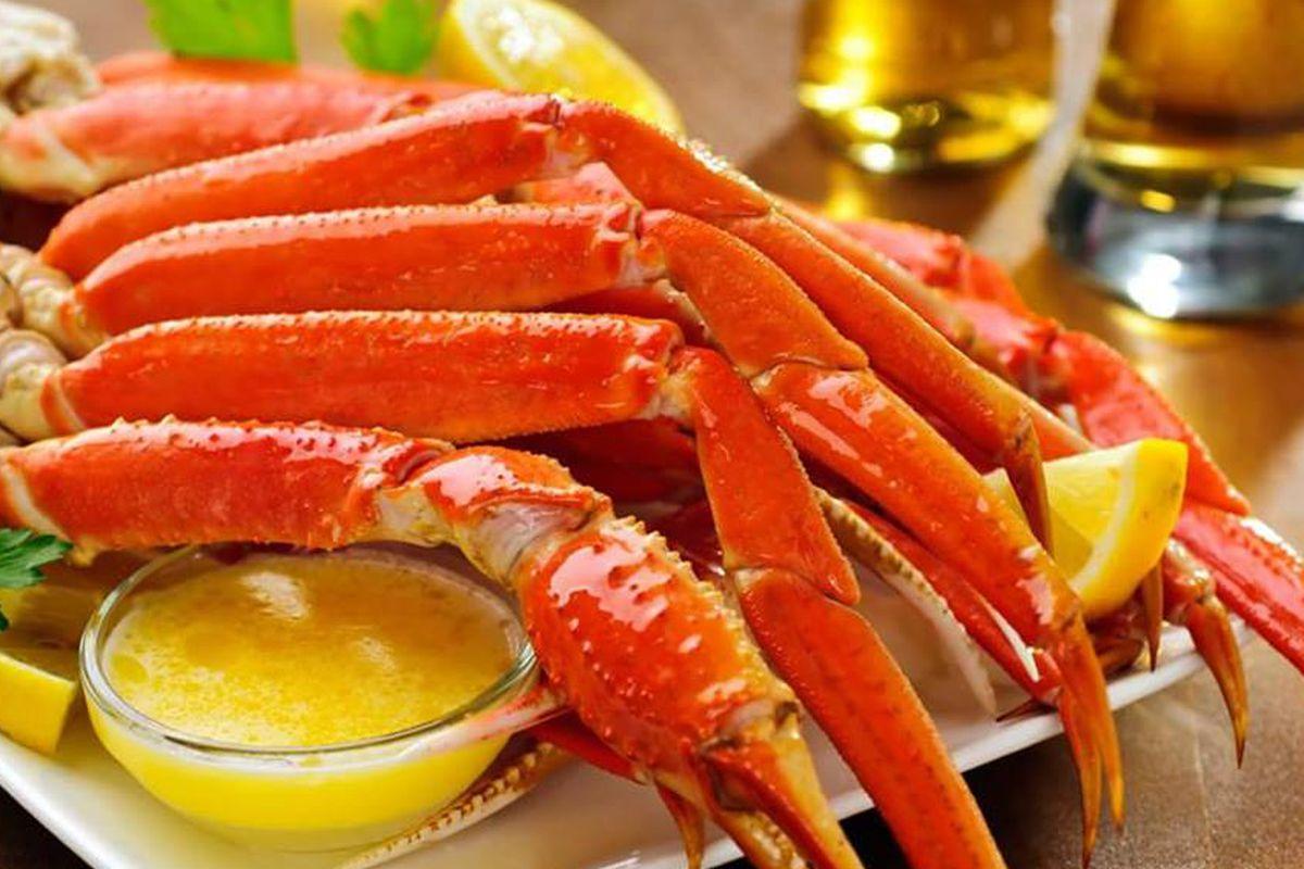 Crab legs from RedZone