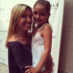 Wendy Bellissimo and her adorable daughter