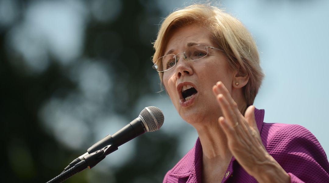 Elizabeth Warren fires back at centrist Democrats