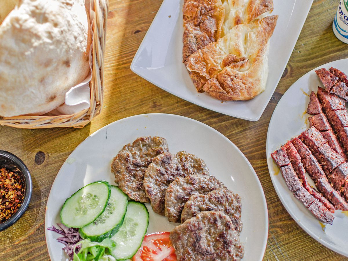 Rea's is a family-owned spot in Golders Green that serves savoury Balkan pastries and sweets