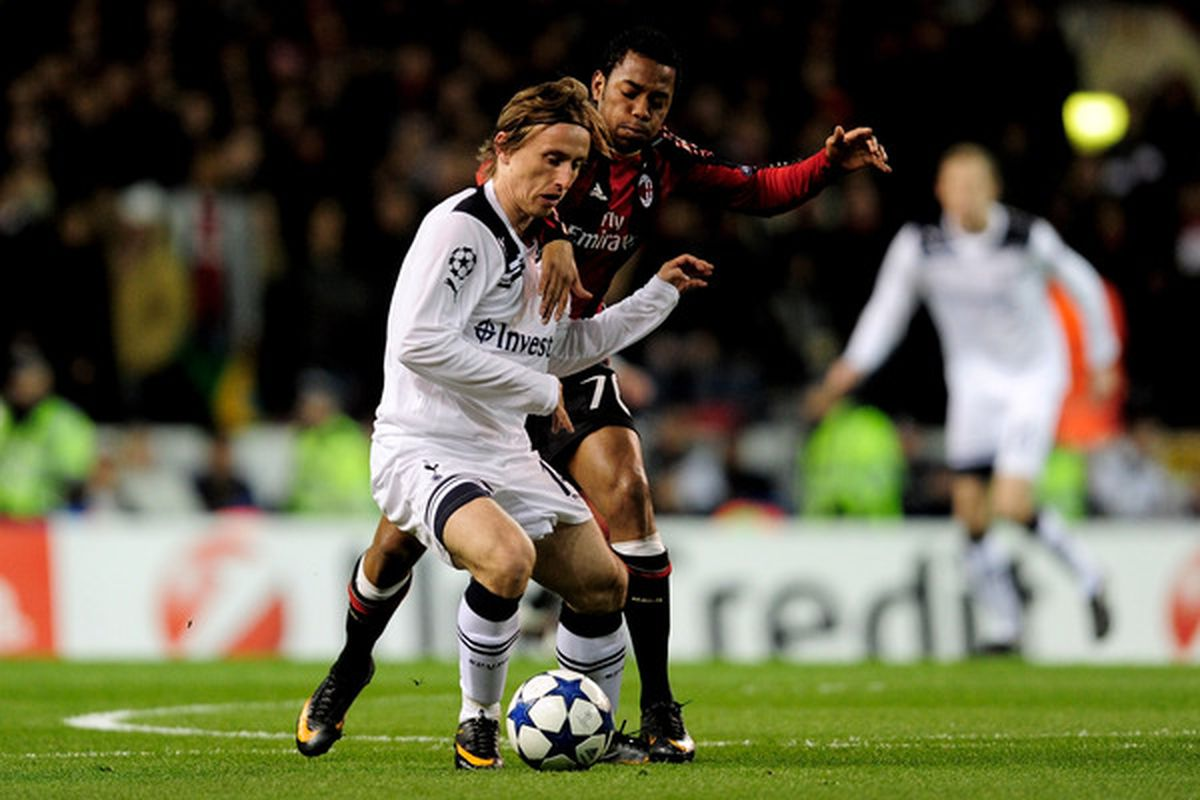 Modric is almost gone