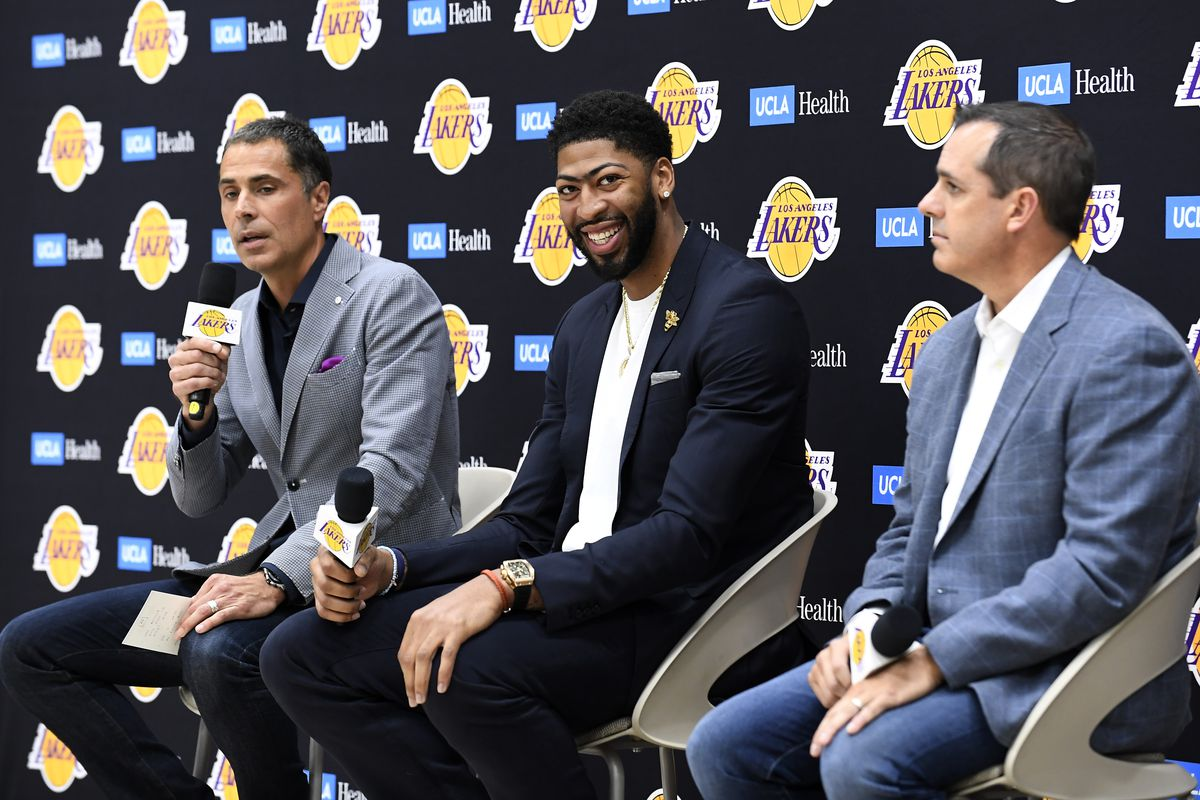 Anthony Davis doesn't want to play center, and his fingerprints are already all over the Lakers roster as a r…
