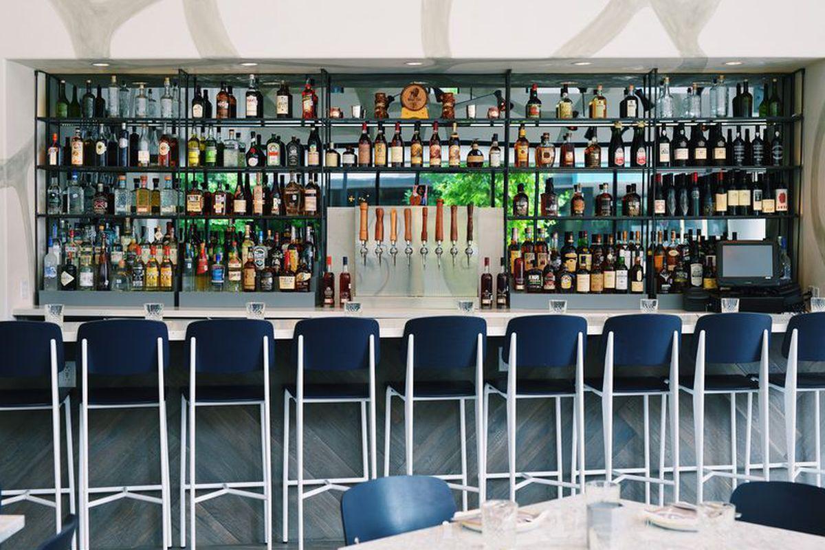 Vox Table Bartender Wins Speed Rack Texas Austin Cookbook