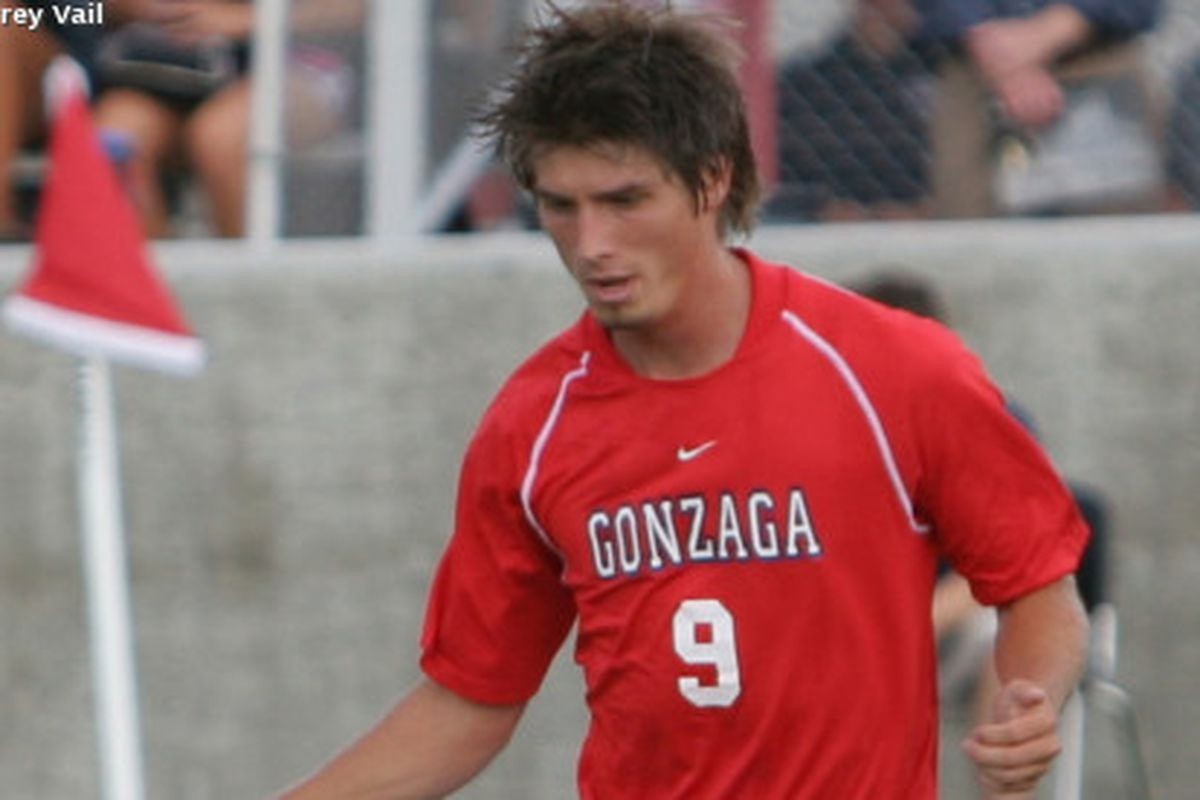 Gonzaga senior midfielder Ben Funkhouser netted his second penalty kick goal of the season earlier today against Oregon State, knotting the game at its final tally of 1-1.