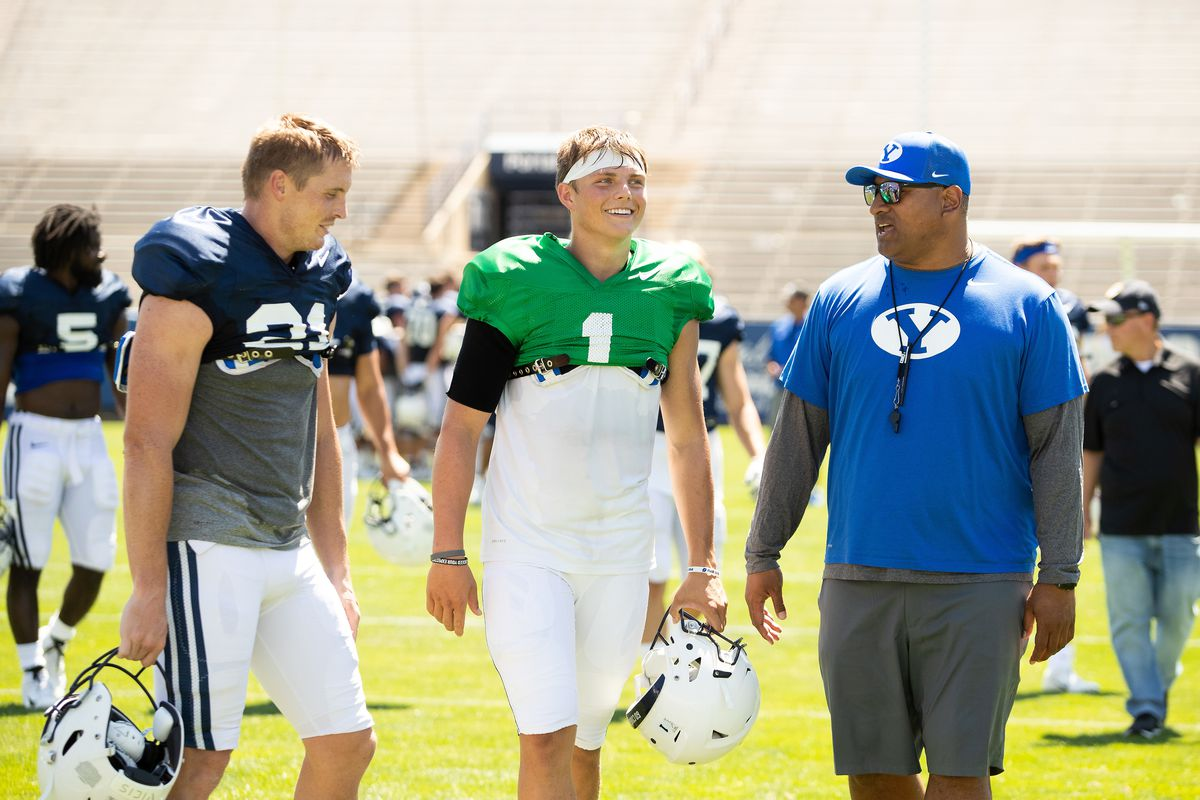 QB Zach Wilson is young, but gets it; easy for BYU ...