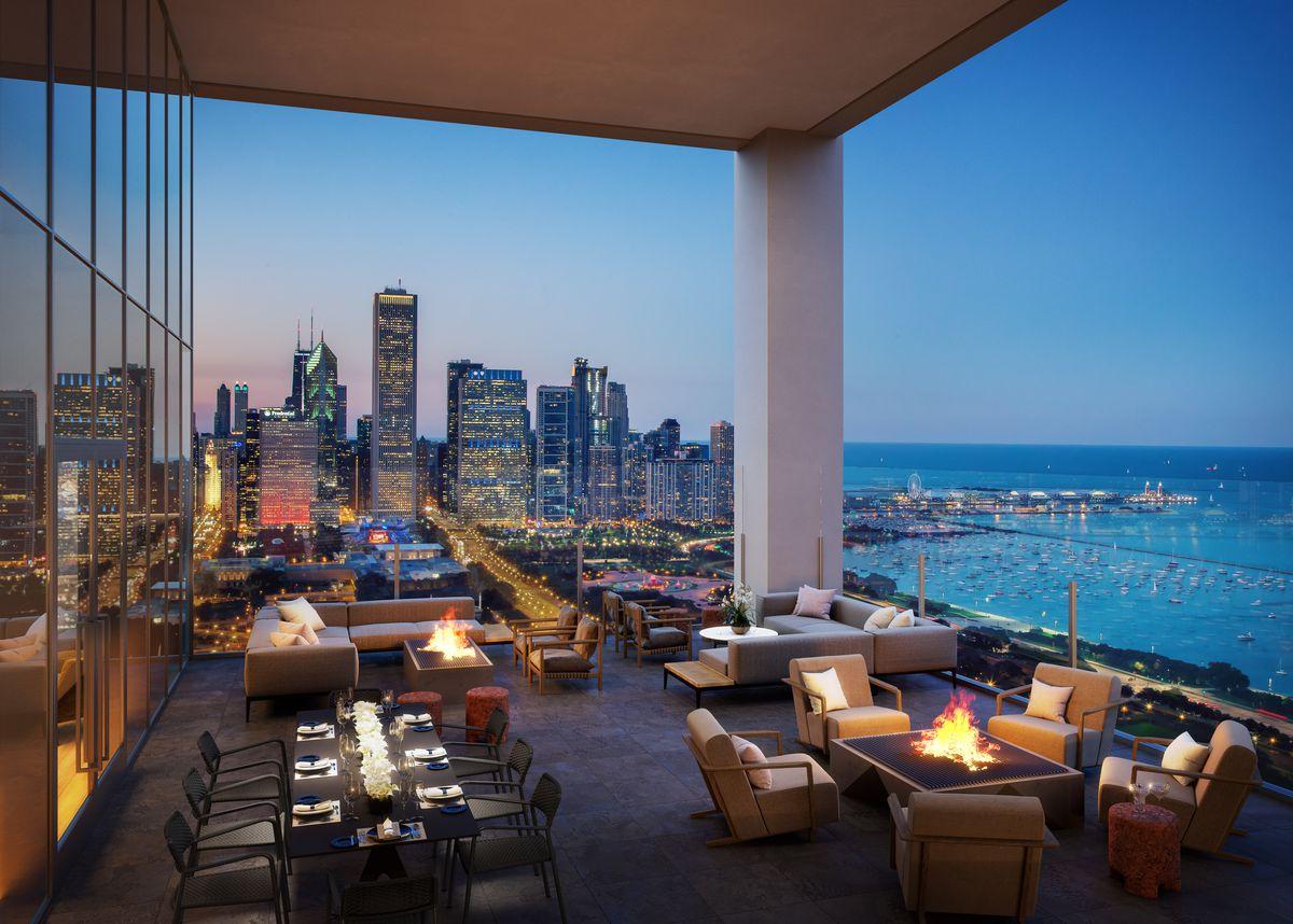 New renderings of luxury fitness amenities at NEMA Chicago ...