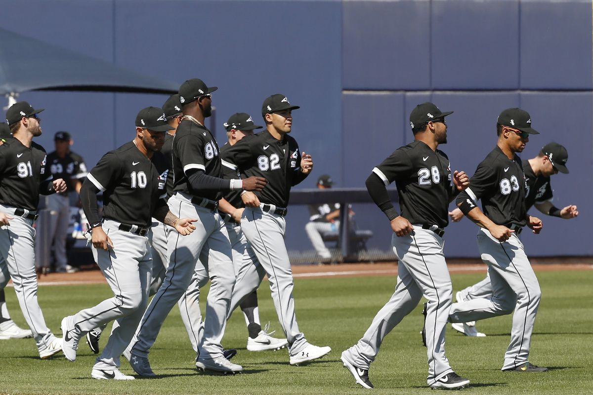The White Sox have released their camp roster.