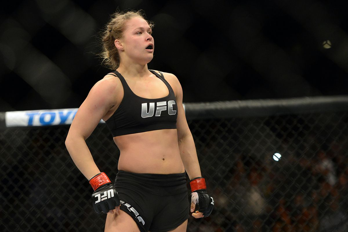 Ronda Rousey Lives In Fear Of High Def Camel Toe