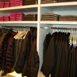 Menswear, including hot pink cardigans