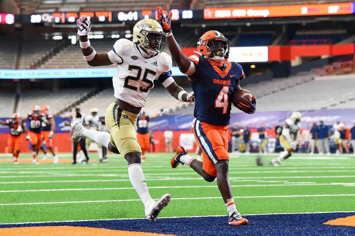 NCAA Football: Georgia Tech at Syracuse