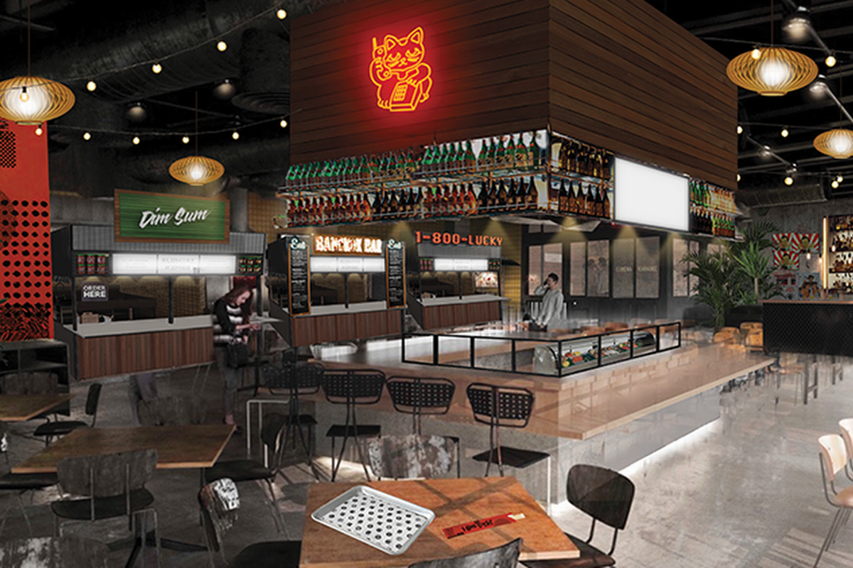 Rendering Of 1 800 Lucky Wynwood S First Asian Themed Marketplace Courtesy