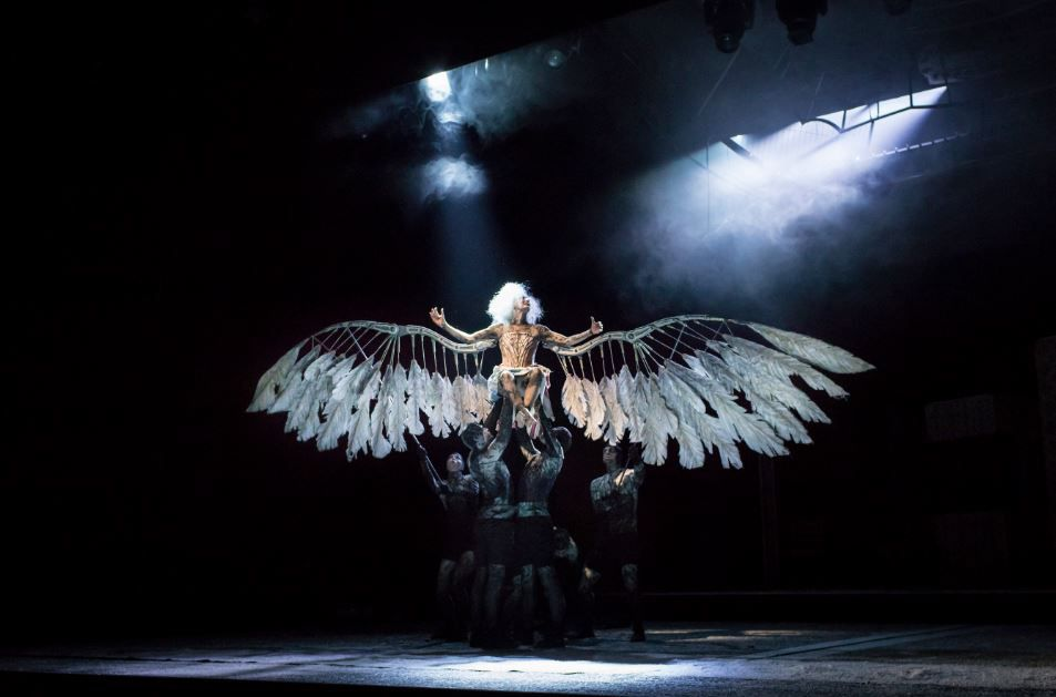 Amanda Lawrence in Angels in America