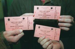 Fans display Steppenwolf tickets. | Sun-Times
