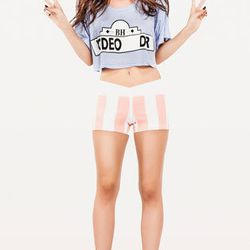"""<b>Wildfox</b> Rodeo Drive cropped tee, $58 at <a href= """"http://www.wildfoxcouture.com/RODEO-DRIVE-CROPPED-T-PID46580-WTJ752C77.aspx"""">Wildfox Couture</a>"""