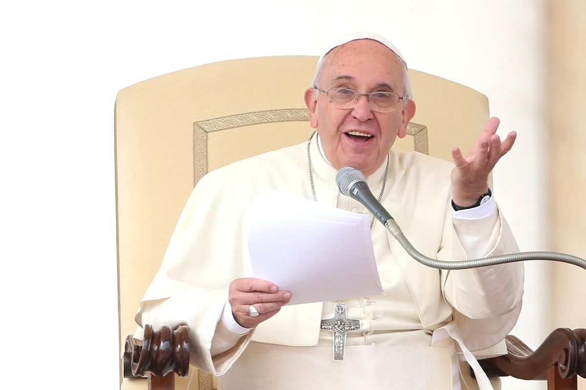 """Pope Francis is all, """"Whatever."""""""