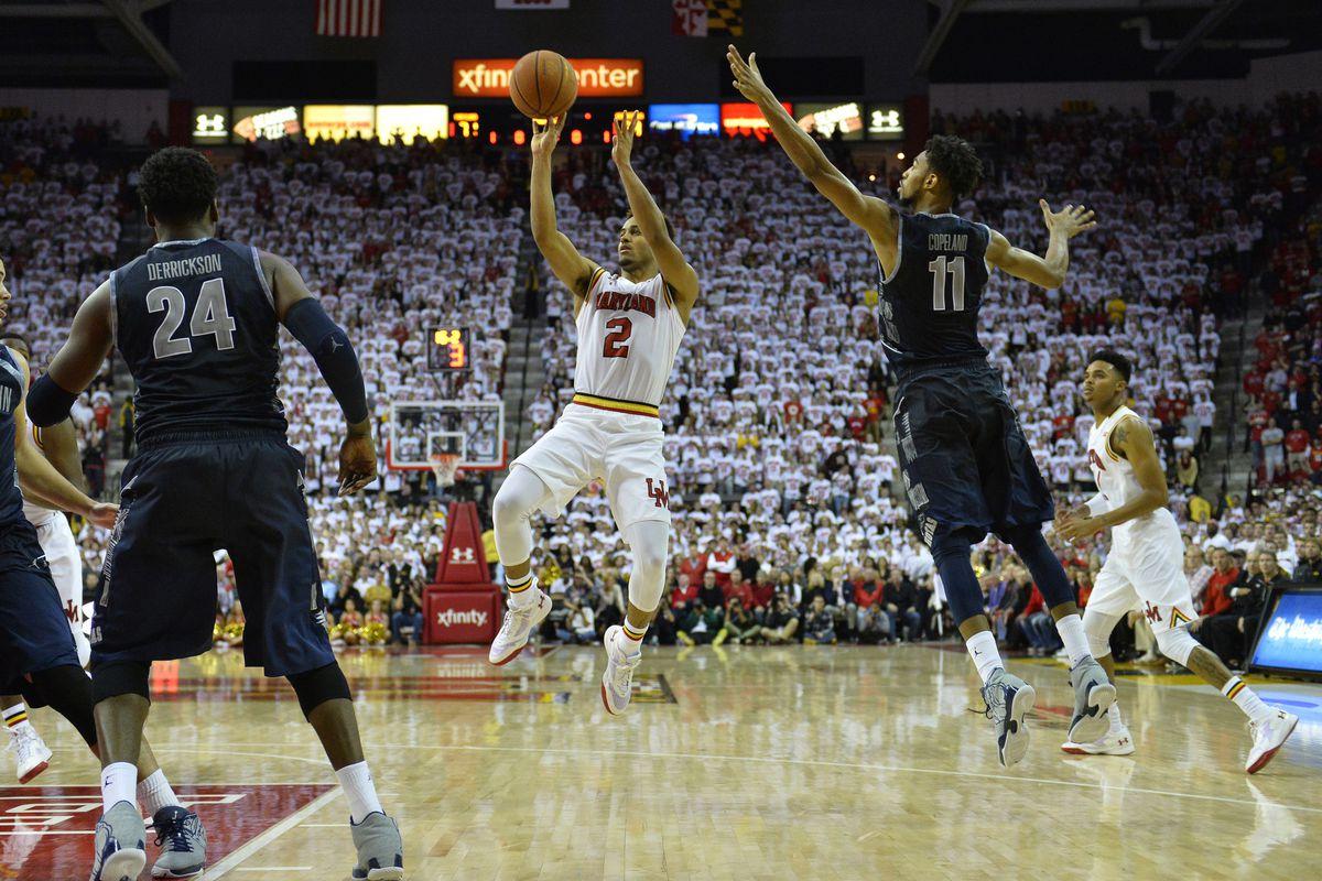 NCAA Basketball: Georgetown at Maryland