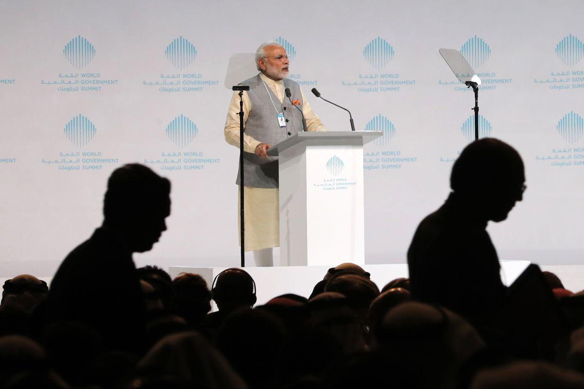 UAE-INDIA-DIPLOMACY-GOVERNMENT-SUMMIT