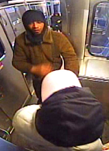 This man allegedly attacked a 25-year-old woman on a train near the Red Line Addison station. | Chicago police