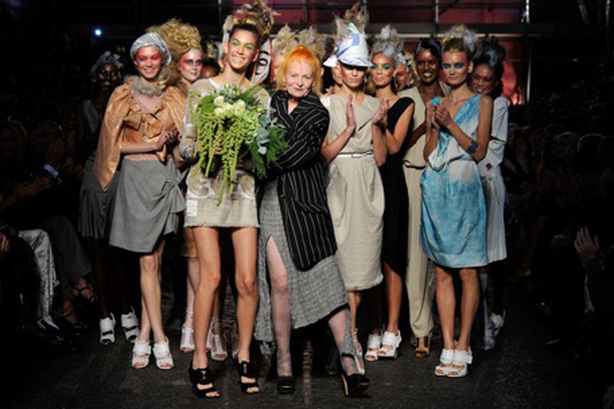 Vivienne Westwood Spring/Summer 2012, via Getty