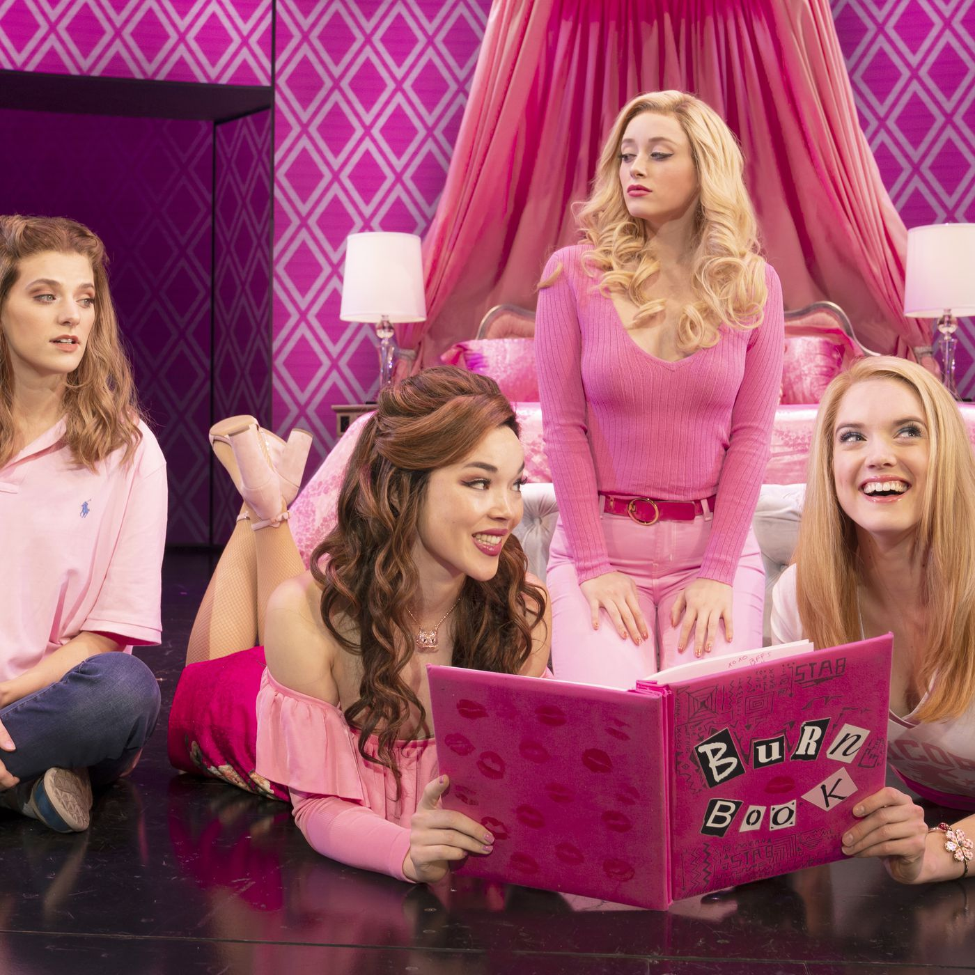Mean Girls Musical Loses Much Of The Joy Soul Of Its Film Counterpart Chicago Sun Times She is portrayed by lacey chabert in the movie, and ashley park in the musical. mean girls musical loses much of the