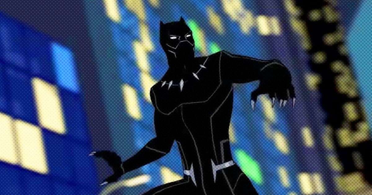 Black Should Panther's You Watch 'Avengers: …  Quest,' the