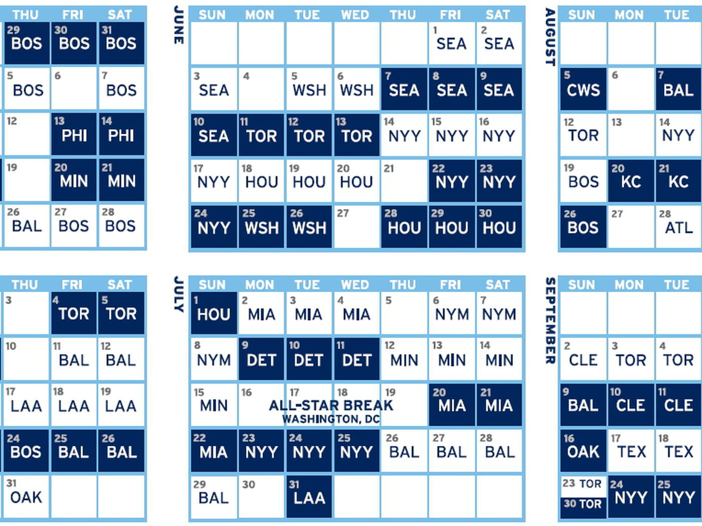 Tampa Bay Rays release 2018 schedule - DRaysBay