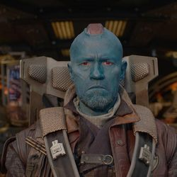 Yondu (Michael Rooker) in Marvel's Guardians of the Galaxy.