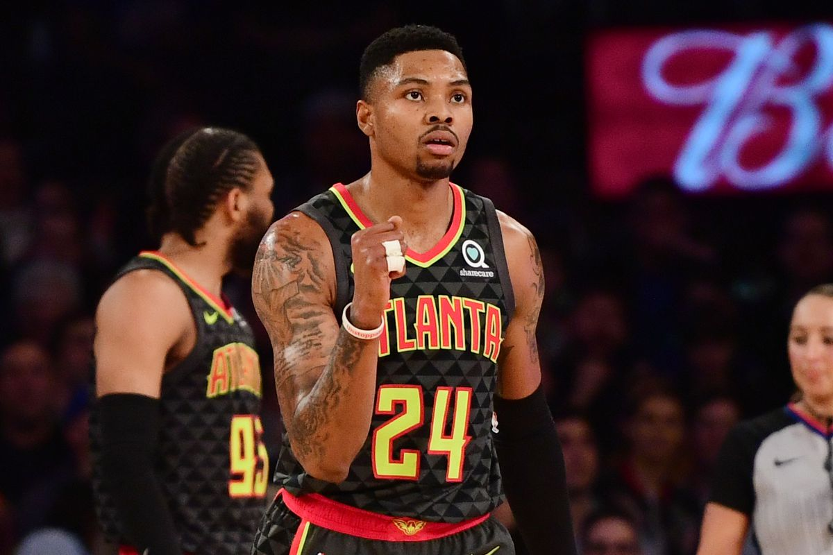 19f6d0493cca ATL and 29  Update from practice and Kent Bazemore s reaction to a crazy  week