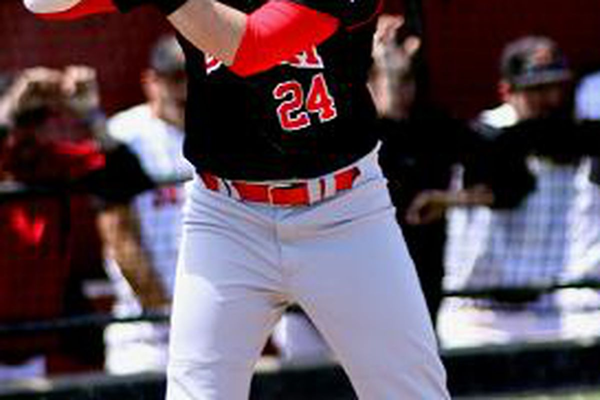 C.J. Cron is one of the top hitters in the draft (image from http://aztecbaseball.wordpress.com/)