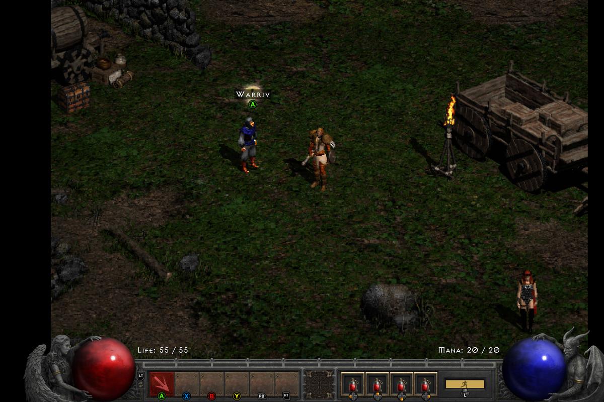 Legacy Graphics Diablo 2: Resurrected