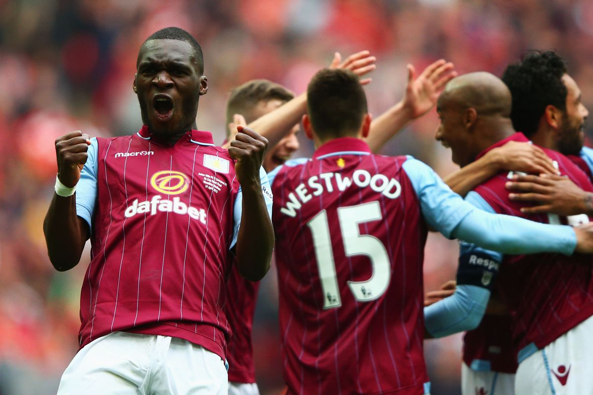 Christian Benteke scored again as Villa came from behind to beat Liverpool