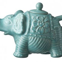 Elephant Teapot in Turquoise or Coral $12.99 each