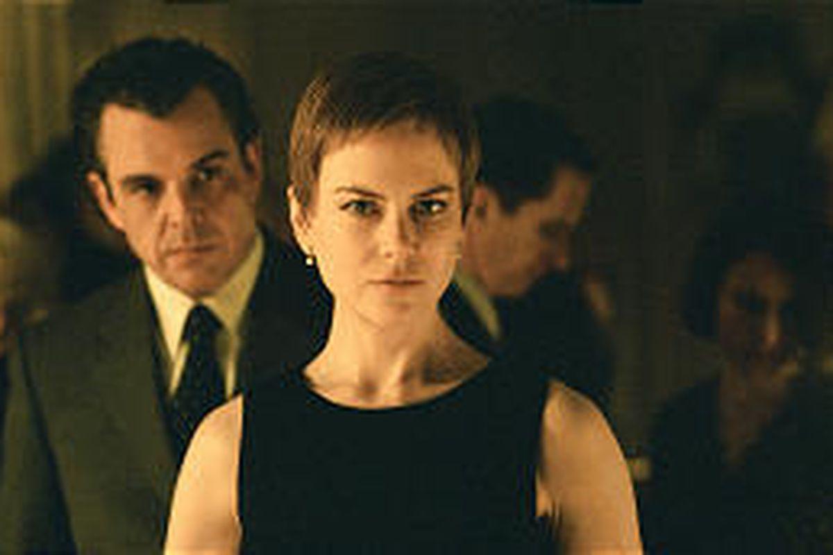 Joseph (Danny Huston) tries to romance Anna (Nicole Kidman), but she's haunted by her husband's death.